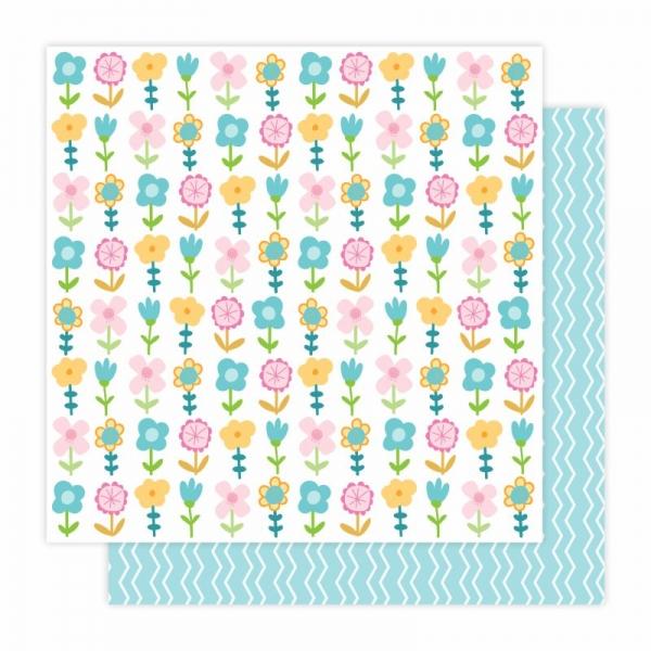 """Sweet Garden A117   12"""" scrapbookpapír"""