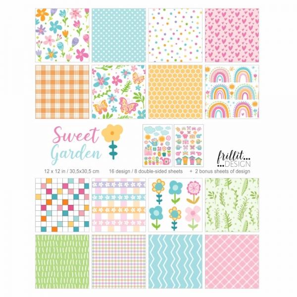 "Sweet Garden   12"" scrapbook alkotócsomag"