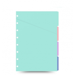 Pasztell A5 elválasztólap | Filofax Notebook Pastel