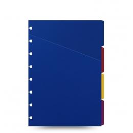 Színes A5 elválasztólap | Filofax Notebook Classic