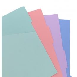 Pasztell Pocket elválasztólap | Filofax Notebook Pastel