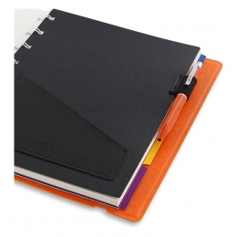 Narancs toll + A5 tolltartó | Filofax Notebook