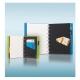 Pink toll + A5 tolltartó | Filofax Notebook