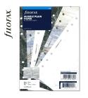 A5 üres márvány jegyzetlap | Filofax