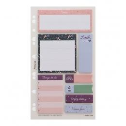 Öntapadó színes jelölő címke és jegyzet nagy | Filofax
