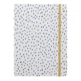 Rain A5 | Filofax Notebook Indigo