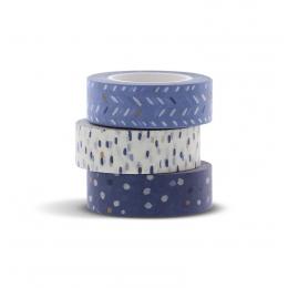 Indigo washi tape készlet | Filofax