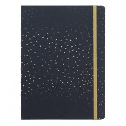 Charcoal A5 | Filofax Notebook Confetti