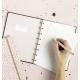 Charcoal A5   Filofax Notebook Confetti