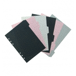 Confetti A5 elválasztólap | Filofax