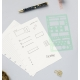 Planner stencil | Filofax