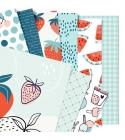 Gyümölcsszezon   20x20 cm scrapbookpapír készlet
