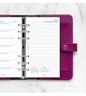 2022 Personal Filofax heti naptárbetét 1 hét / 1 oldal + 1 oldal jegyzet fehér