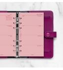 2022 Personal Filofax heti naptárbetét 1 hét / 2 oldal Pink