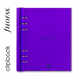 Lila A5 Filofax Clipbook