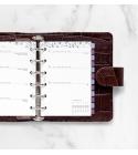 2022 Pocket Garden Filofax heti naptárbetét