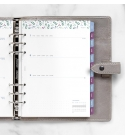 2022 A5 Garden Filofax heti naptárbetét