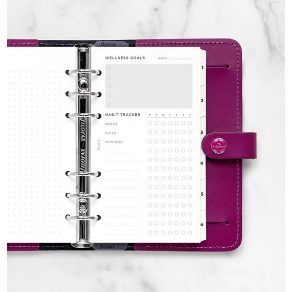 Personal fitnesz tervező betétlap | Filofax