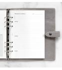 A5 célkitűzés tervező betétlap   Filofax