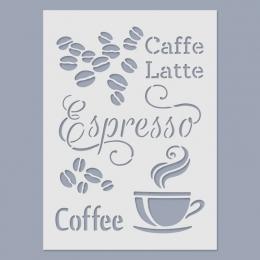 Espresso stencil