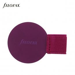 Mályva öntapadós tolltartó határidőnaplóhoz | Filofax