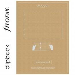 Éves A5 Filofax Clipbook naptárbetét dátum nélkül