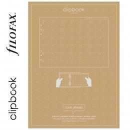 Havi A5 Filofax Clipbook Naptárbetét dátum nélkül
