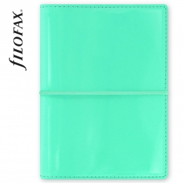 Filofax Domino Lakk Pocket Türkiz