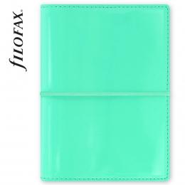 Türkiz Pocket Domino Lakk Filofax határidőnapló