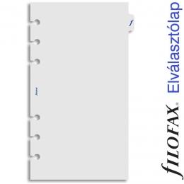 Filofax Elválasztó lap, Personal Átlátszó