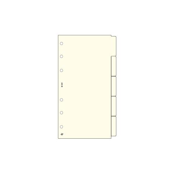 Krém M (Personal) Bianco elválasztólap Saturnus pótlapcsomag