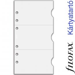 Filofax Kártyatartó, Bankkártya Personal Átlátszó