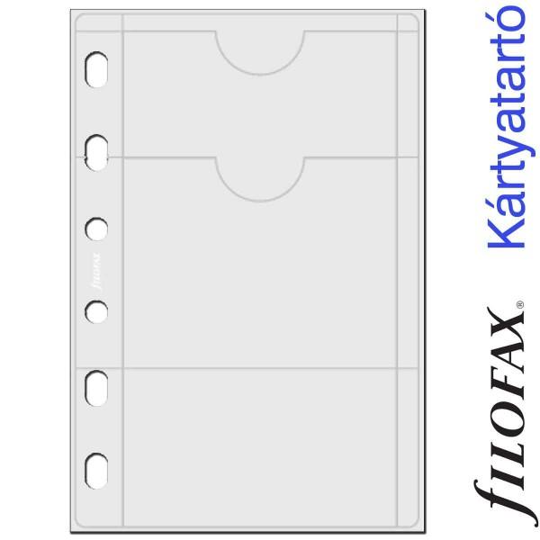 Filofax Kártyatartó, Bankkártya Pocket Átlátszó