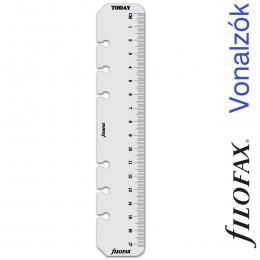 Filofax Vonalzó, nap jelölő Personal Átlátszó