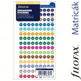 Filofax Öntapadó színes szervező címke nagy méret