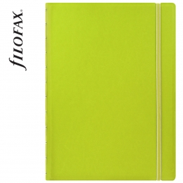 Filofax Notebook Classic A4 Lime
