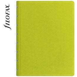 Filofax Notebook Saffiano A5 Limezöld