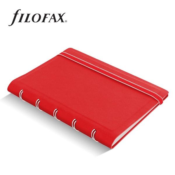 Filofax Notebook Classic Pocket Piros