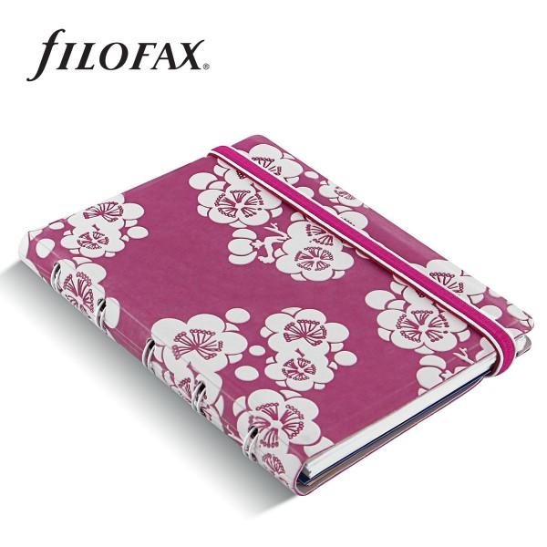 Filofax Notebook Impressions Pocket Pink-fehér
