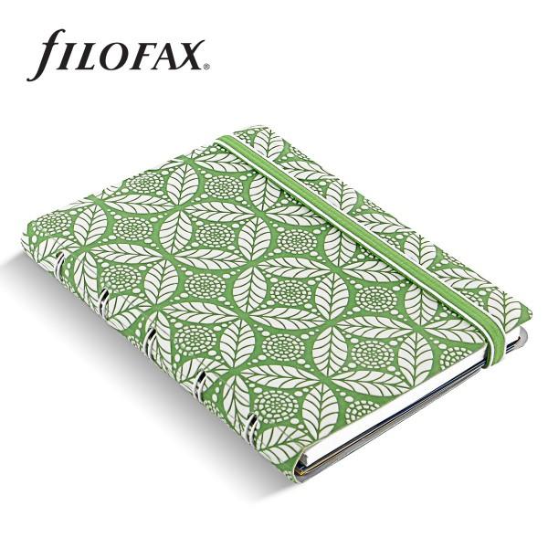 Filofax Notebook Impressions Pocket Zöld-fehér