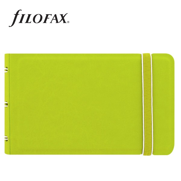 Filofax Notebook Classic Smart Limezöld