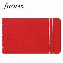 Filofax Notebook Classic Smart Piros