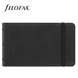 Filofax Notebook Classic Smart Fekete