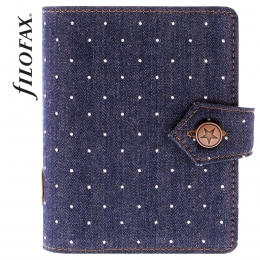 Filofax Denim Dots Pocket