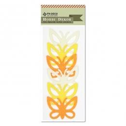 Filc pillangó - sárga
