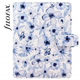 Filofax Indigo Floral Pocket