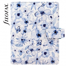 Pocket Indigo Floral határidőnapló   Filofax
