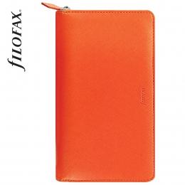 Filofax Saffiano Compact Zip Narancs