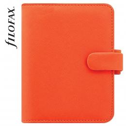 Filofax Saffiano Pocket Narancs