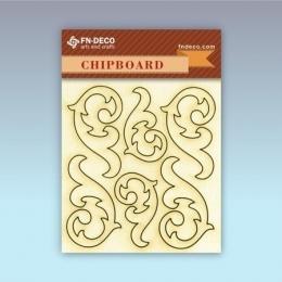 Inda 2 chipboard karton díszítőelem